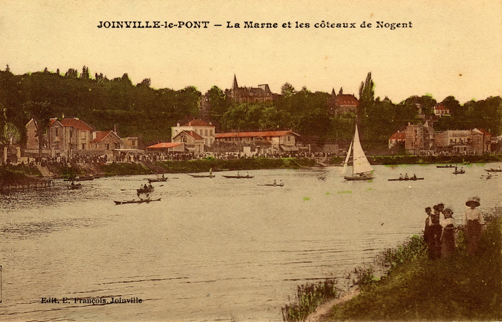 Joinville-le-Pont France  City pictures : JOINVILLE le PONT – La Marne et les côteaux de Nogent « Cartes ...