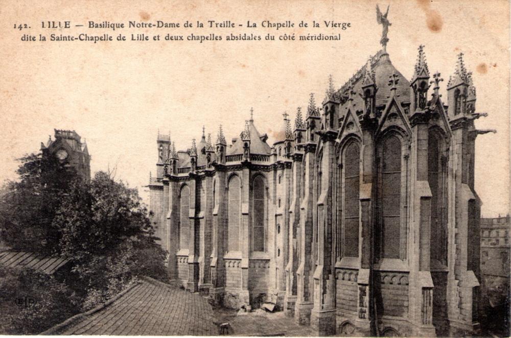 142 lille basilique notre dame de la treille la - Eglise notre dame de la treille lille ...