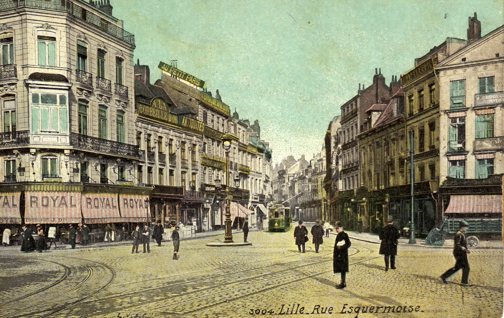 3004 lille rue esquermoise cartes postales anciennes - Magasin meuble lille rue esquermoise ...